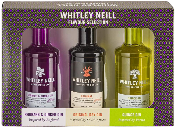 Whitley Neill Tasting Pack - England, South Africa and Persia Edition, Gin - Image 2
