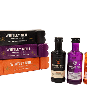 Whitley Neill Cracker (6 x 5cl) Gift Set - DrinksShop.co.uk