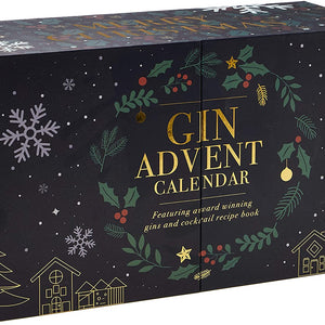 Premium 24 Gin Advent Calendar by Drinks Shop - DrinksShop.co.uk