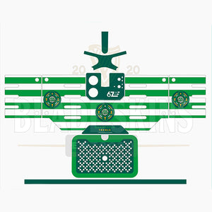 """Celtic FC Quadruple Treble Blade Machine Skin"""