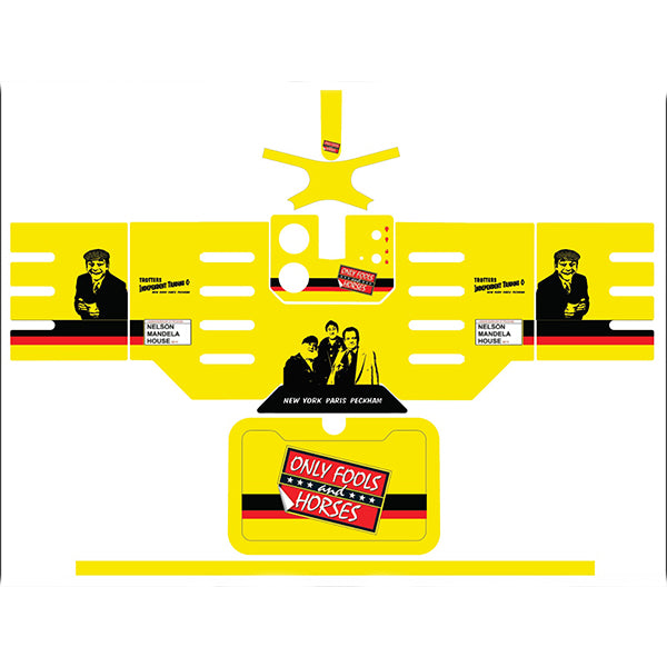 Only Fools and Horses Yellow Blade Machine Skin by  Drinks Shop