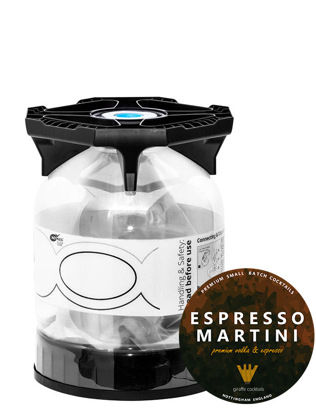 Espresso Martini 10L Party Key Keg, Cocktail Mixes by Drinks Shop