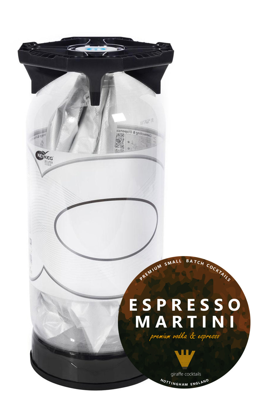 Espresso Martini 20L Keg, Cocktail Mixes by Drinks Shop