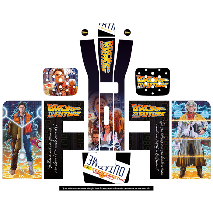 Back To The Future Style Perfect Draft Wrap by Drinks Shop