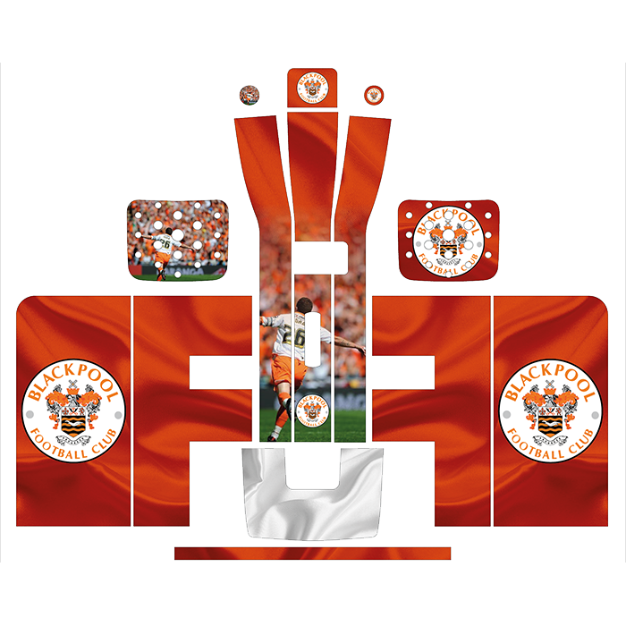 Blackpool Style Perfect Draft Wrap, Decorative Stickers by Drinks Shop