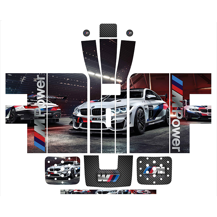 BMW M Power Style Perfect Draft Wrap by Drinks Shop