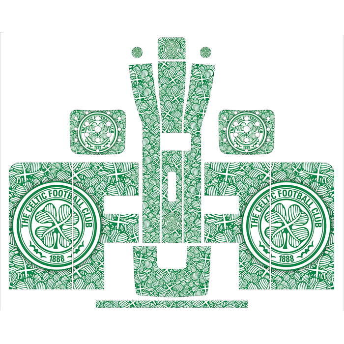 Celtic Style Perfect Draft Wrap, Decorative Stickers by Drinks Shop