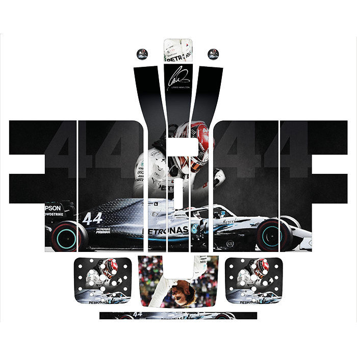 Lewis Hamilton Style Perfect Draft Wrap, Decorative Stickers by Drinks Shop