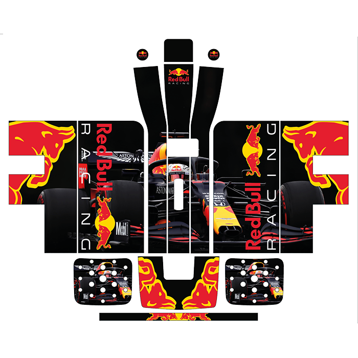 Red Bull F1 Style Perfect Draft Wrap, Hobbies & Creative Arts by Drinks Shop