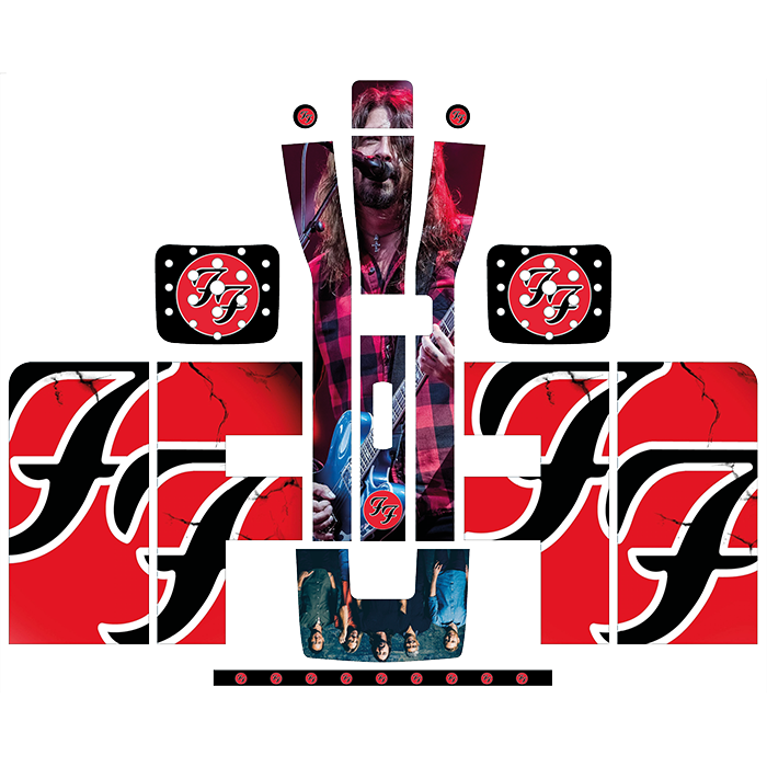 Foo Fighters Style Perfect Draft Wrap by Drinks Shop