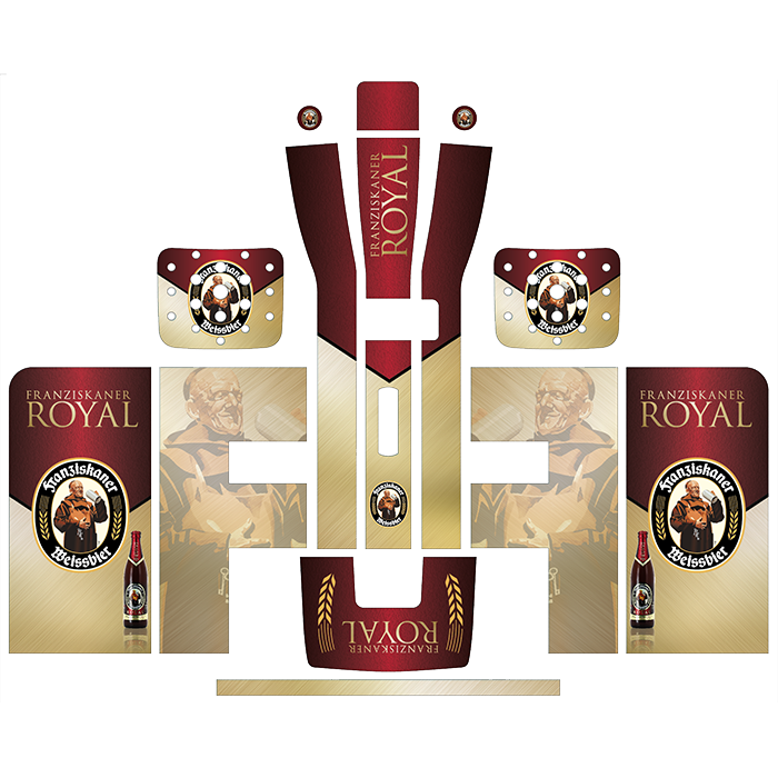 Franziskaner Royal Style Perfect Draft Wrap by Drinks Shop