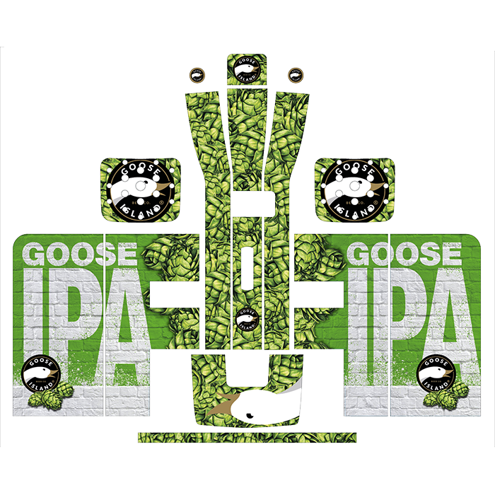 Goose IPA Style Perfect Draft Wrap by  Drinks Shop