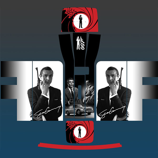 James Bond 007 Sean Connery Perfect Draft Machine Skin, Decorative Stickers by Drinks Shop