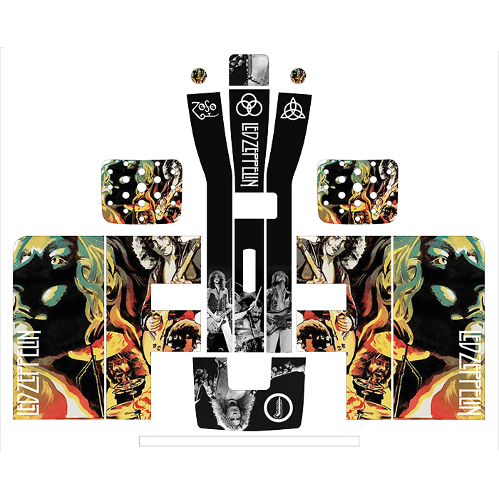 Led Zeppelin Style Perfect Draft Wrap, Art & Crafting Materials by Drinks Shop
