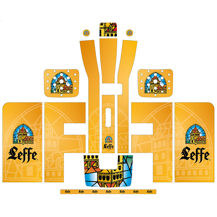 Leffe Style Perfect Draft Wrap, Decorative Stickers by Drinks Shop