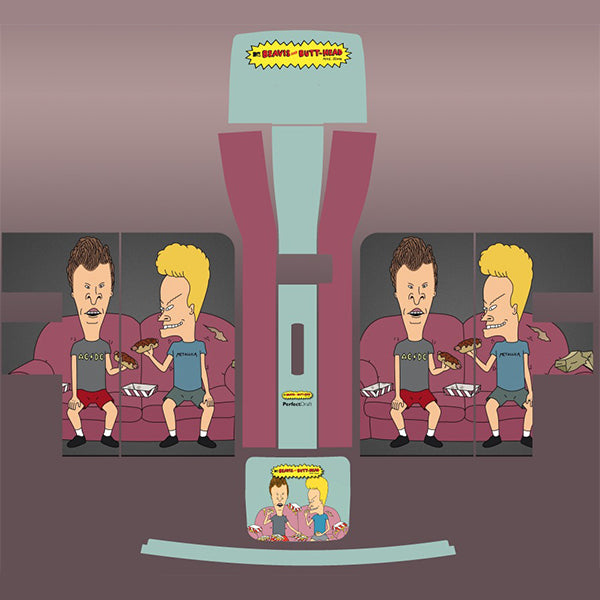 Beavis and Butthead Perfect Draft Skin by  Drinks Shop
