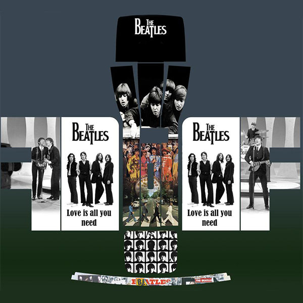 The Beatles Love Is All You Need Perfect Draft Skin by Drinks Shop