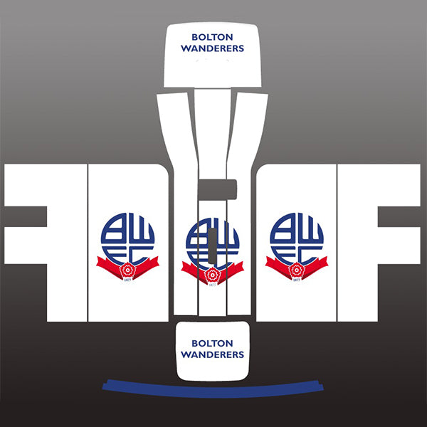 Bolton Wanderers White Perfect Draft Skin, Arts & Crafts by Drinks Shop
