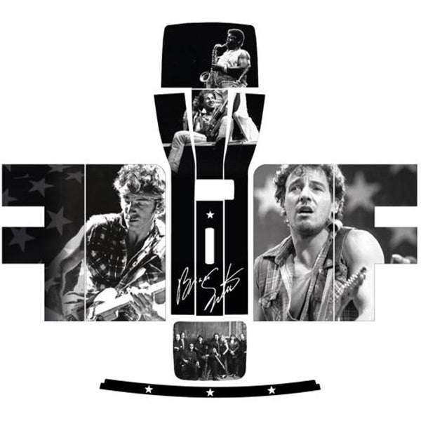 Bruce Springsteen Monochrome Perfect Draft Skin by Drinks Shop