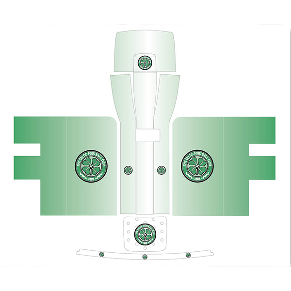 Celtic FC Green Fade Perfect Draft Skin, Hobbies & Creative Arts by Drinks Shop