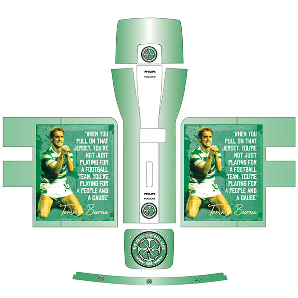 Celtic FC Tommy Burns Perfect Draft Skin by Drinks Shop