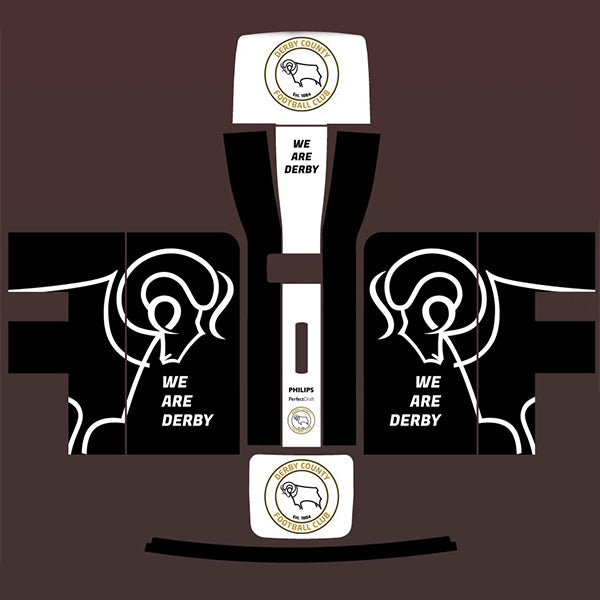 Derby County FC 'We Are Derby' Perfect Draft Skin, Art & Crafting Materials by Drinks Shop
