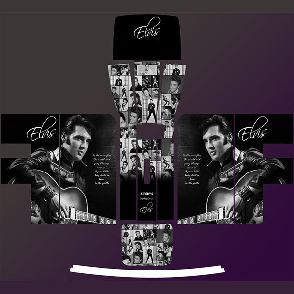 Elvis Monochrome In The Ghetto Perfect Draft Skin by Drinks Shop