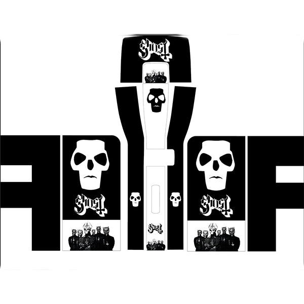 Ghost Rock Band Perfect Draft Skin, Decorative Stickers by Drinks Shop