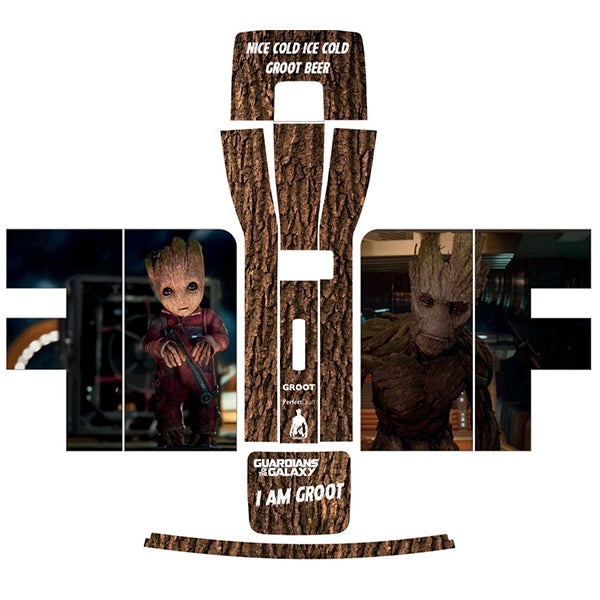 Groot Guardians of the Galaxy Perfect Draft Skin by Drinks Shop