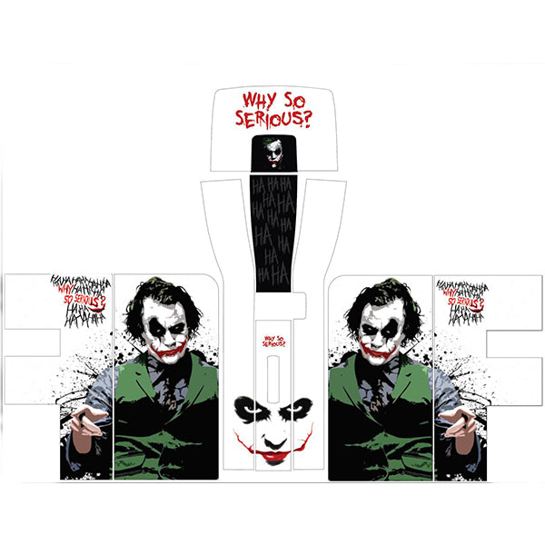 Joker Why So Serious Perfect Draft Skin by Drinks Shop