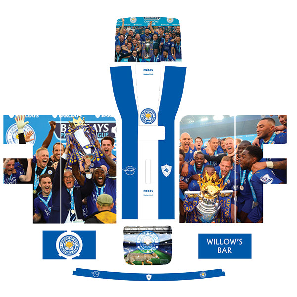 Leicester City FC Premier League Champions Perfect Draft Skin by Drinks Shop