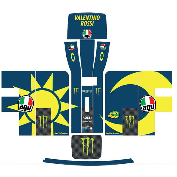 Valentino Rossi MotoGP Perfect Draft Skin by  Drinks Shop