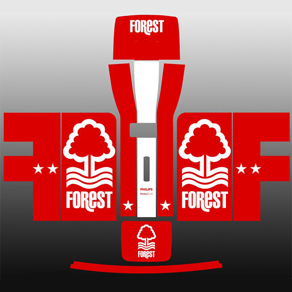 Nottingham Forest FC Red + White Perfect Draft Skin by  Drinks Shop