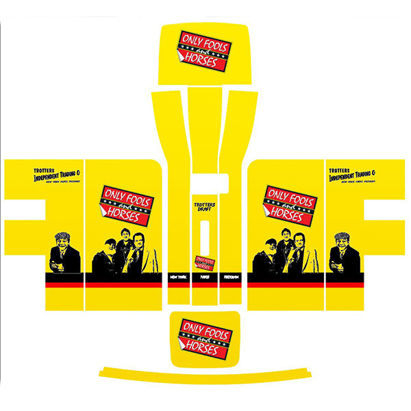 Only Fools and Horses Yellow Perfect Draft Skin, Hobbies & Creative Arts by Drinks Shop