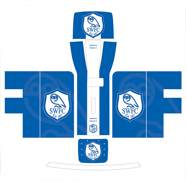 Blue Sheffield Wednesday Perfect Draft Skin by Drinks Shop