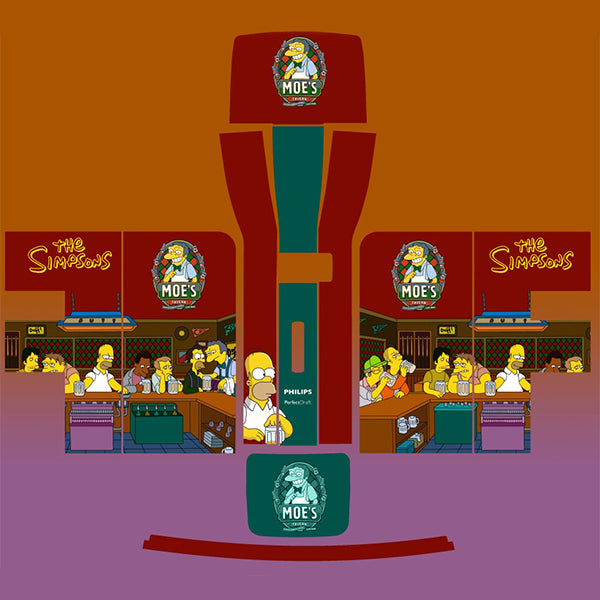 The Simpsons Moes Tavern Perfect Draft Skin by Drinks Shop