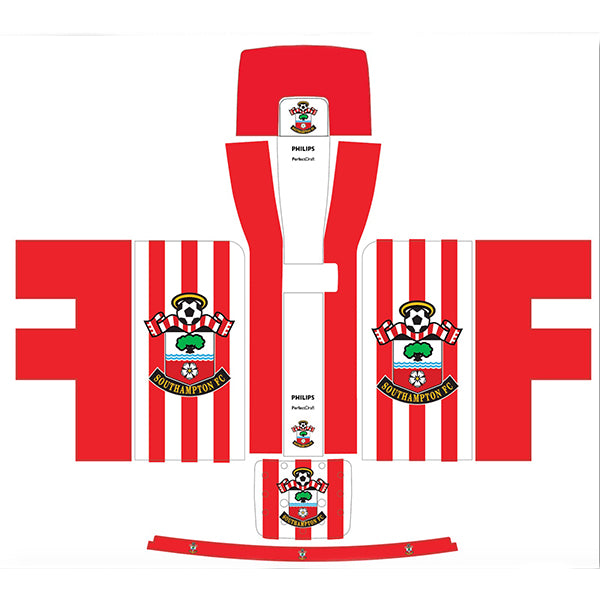Southampton FC Red + White Striped Perfect Draft Skin by Drinks Shop