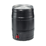 5 Litre Mini Kegs - Black - Drinks Shop