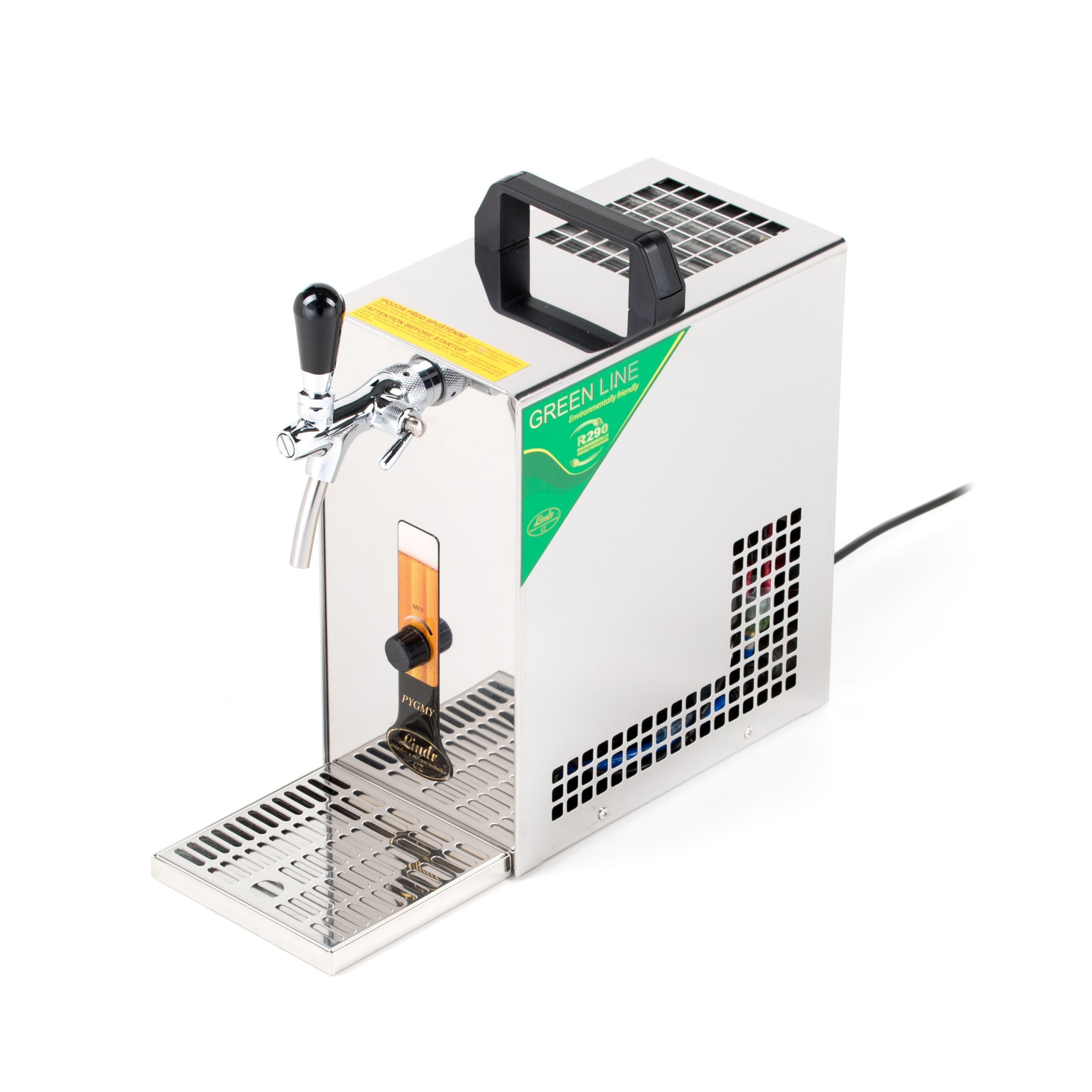 Single Tap Draught Beer Chiller Pygmy 25K, Beer Dispensers & Taps by Drinks Shop