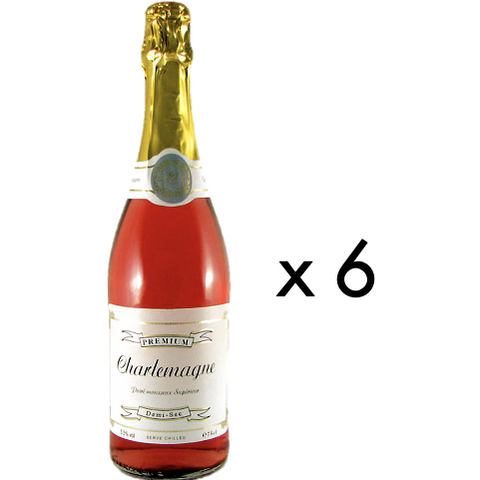 Charlemagne Rosé Sparkling Perry 75cl - Drinks Shop
