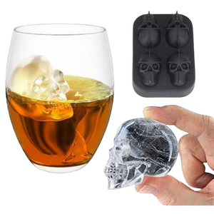 Skull Ice Cube Trays - DrinksShop.co.uk