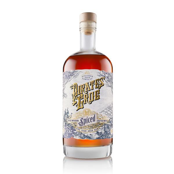 Spiced Rum Gift Chest   The Pirate Range, Rum - Image 2