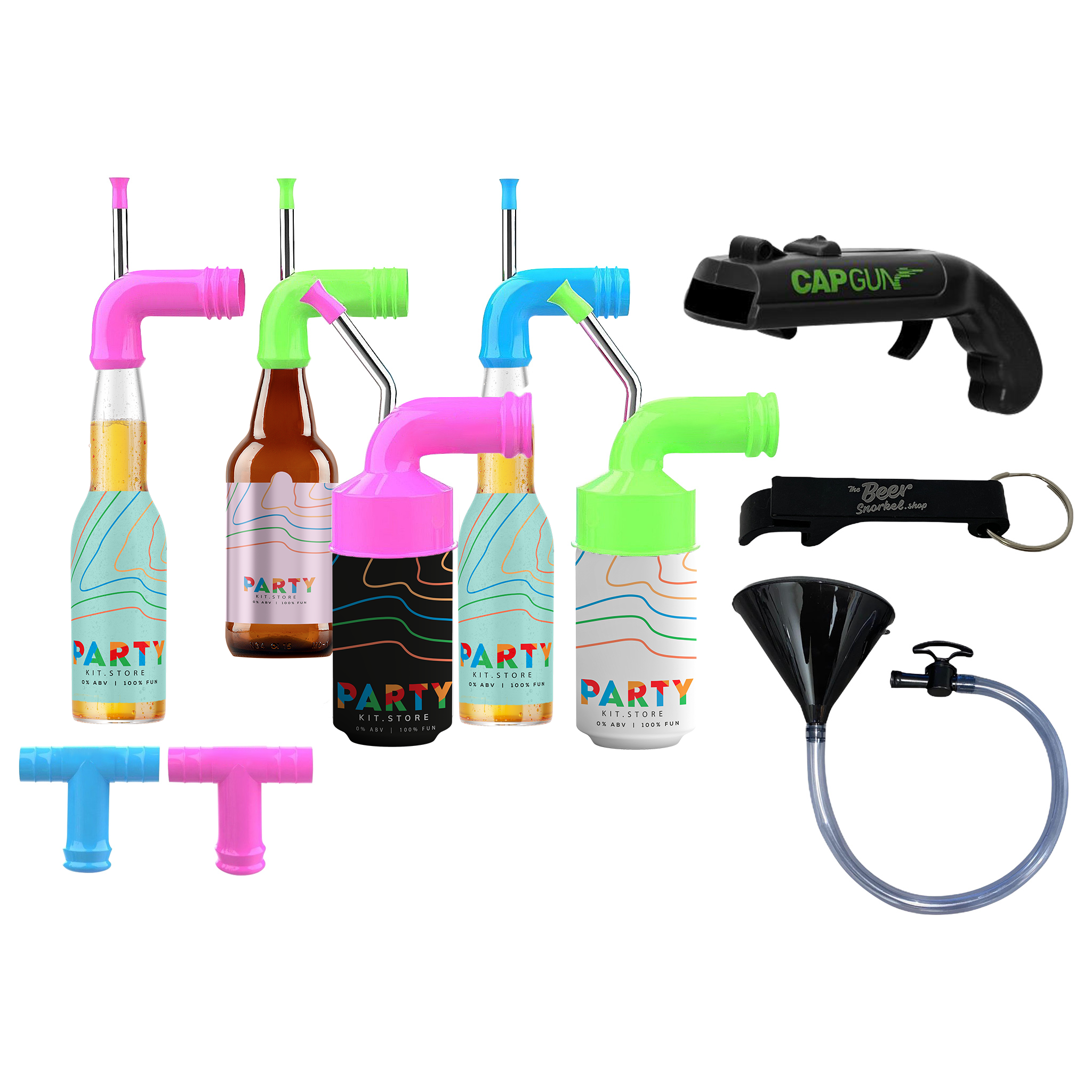 Party Snorkel Set, Party Supplies by Drinks Shop