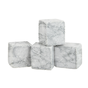 Granite Whiskey Stones (Light Grey) - DrinksShop.co.uk