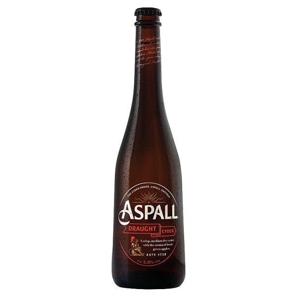 Aspall Draught Cyder 500ml Case of 6, Cider by Drinks Shop