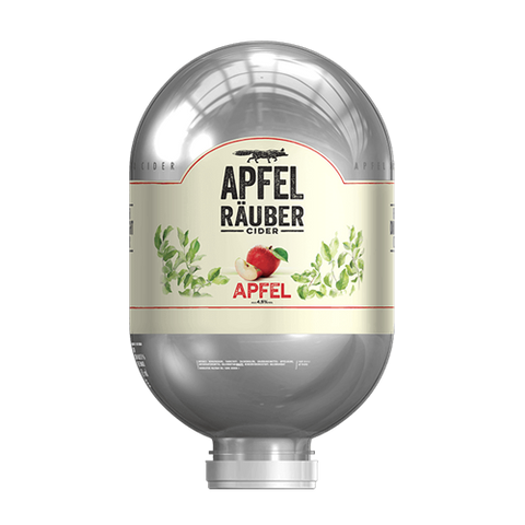 Apfel Räuber Keg 8L - For Blade Machine - DrinksShop.co.uk