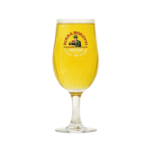 Birra Moretti Schooner Glasses - DrinksShop.co.uk