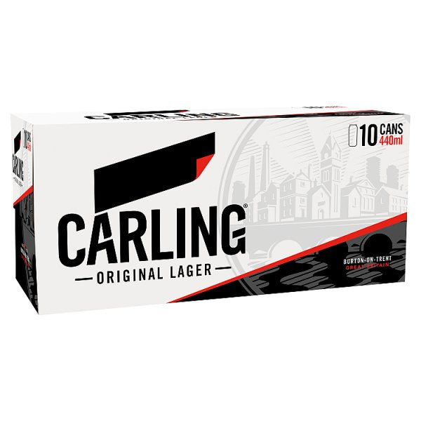 Carling Original Lager 10 x 440ml by Drinks Shop