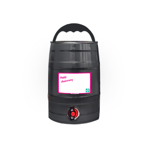 Keg for Life - Black - DrinksShop.co.uk