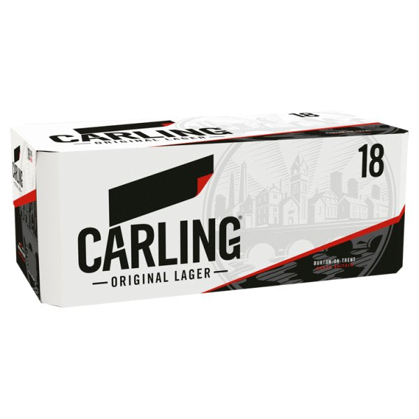 Carling Original Lager 18 x 440ml by Drinks Shop